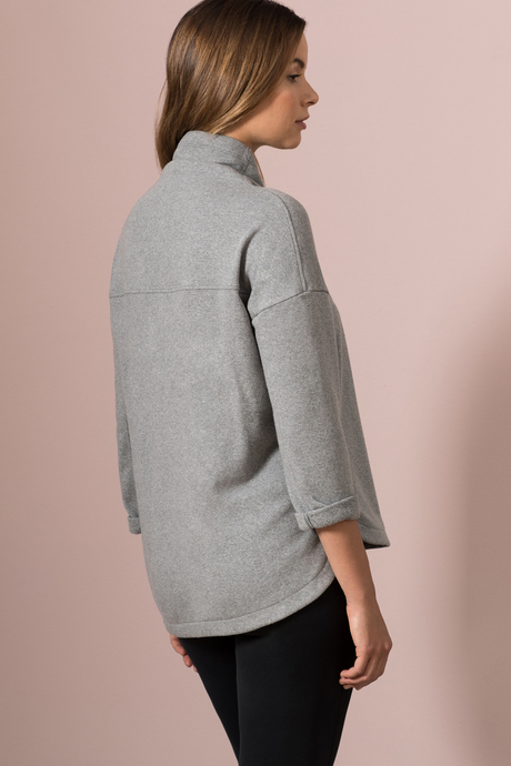 Margot funnel heather gray back2