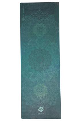 Green Mandala Yoga Mat