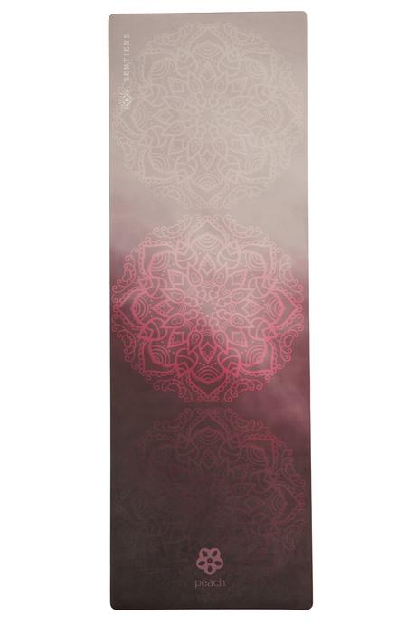 Sentiens yoga rose mandala mat laydown