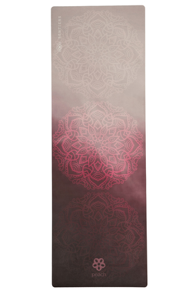 rose gold mandala yoga mat