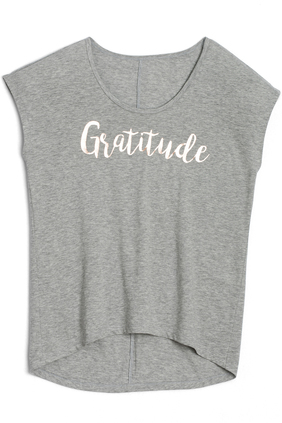 anna graphic tee - gratitude