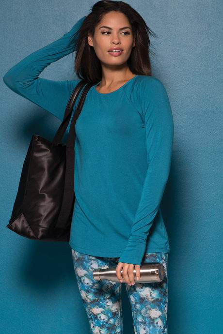 Valerie top amazonite front