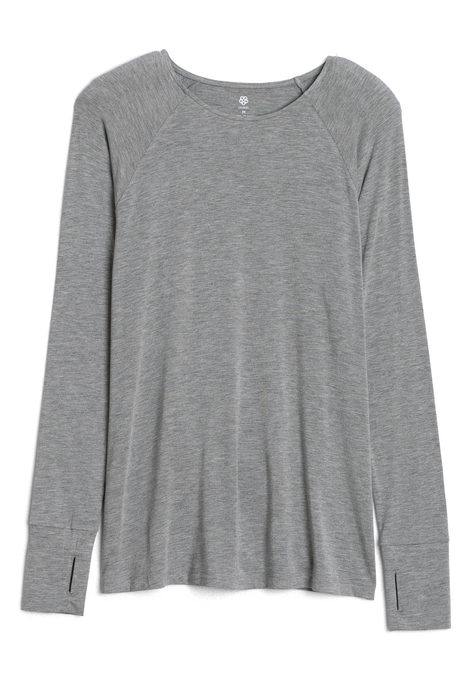 Valerie top gray pinup