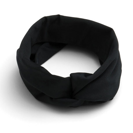 Turban headband black pinup