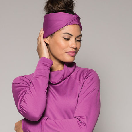 Turban headband amethyst2