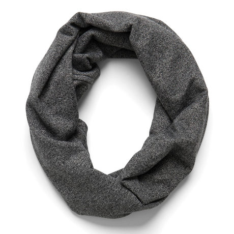 Infinity scarf graphite pinup