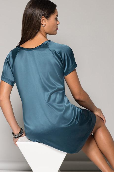 Bijou dress jade rev back