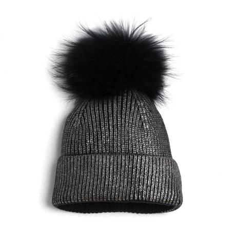 Foil pom hat
