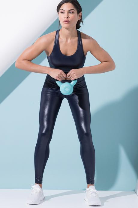 Paola yoga bra indigo 2