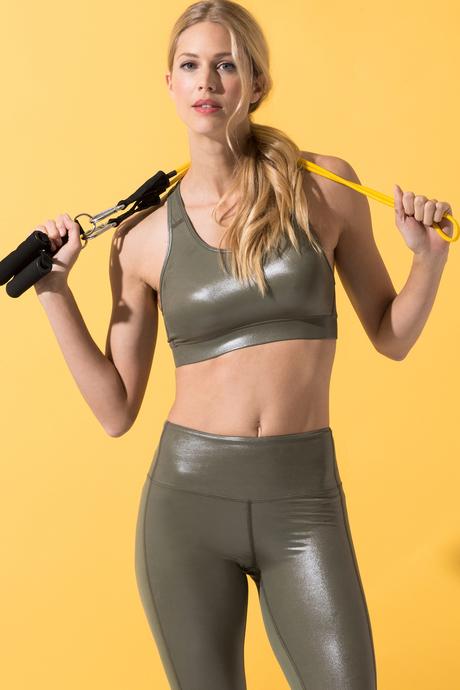 Paola yoga bra olive 1