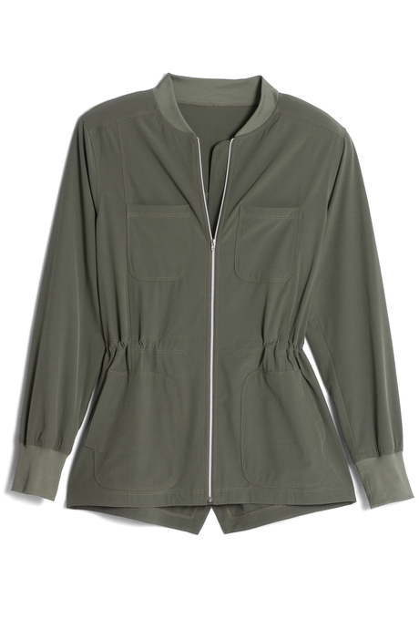 Roma anorak olivepinup