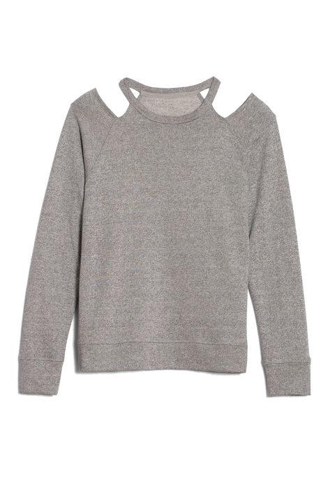 Newport sweatshirt pinup gray
