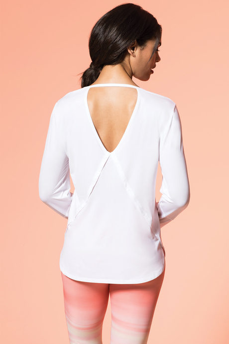 Savasana top white2