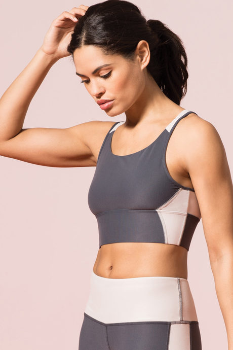 Recharge yoga bra gray1