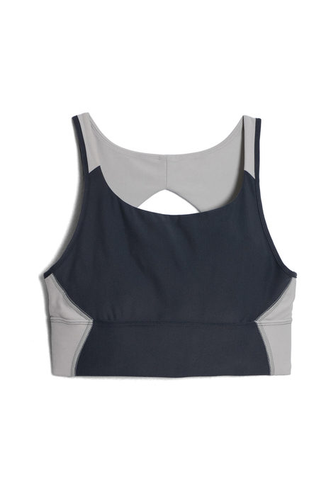 Recharge yoga bra pinup gray