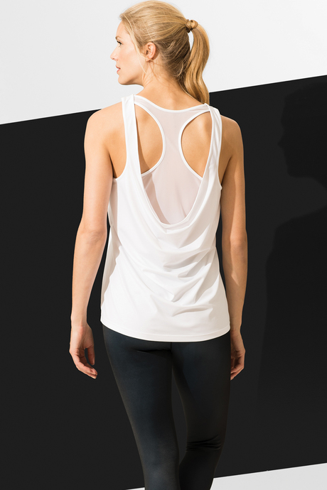 Gisele tank white back