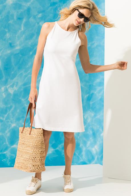 Camila dress white front