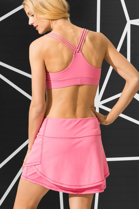 Ceci skort samba pink back