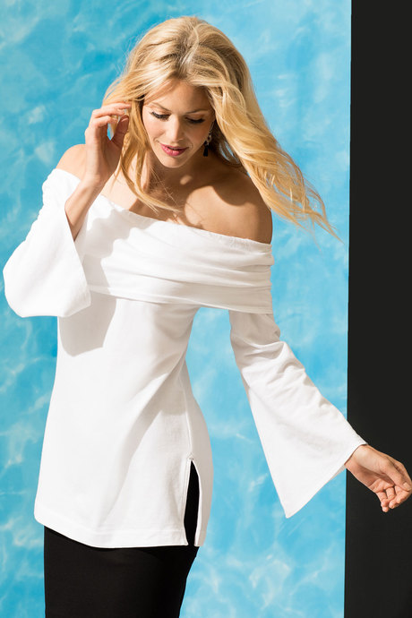 Miranda tunic white side