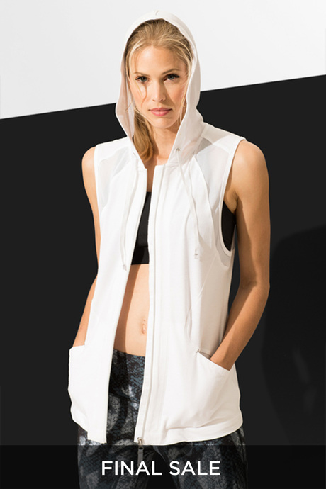 Carioca hoodie white front final sale