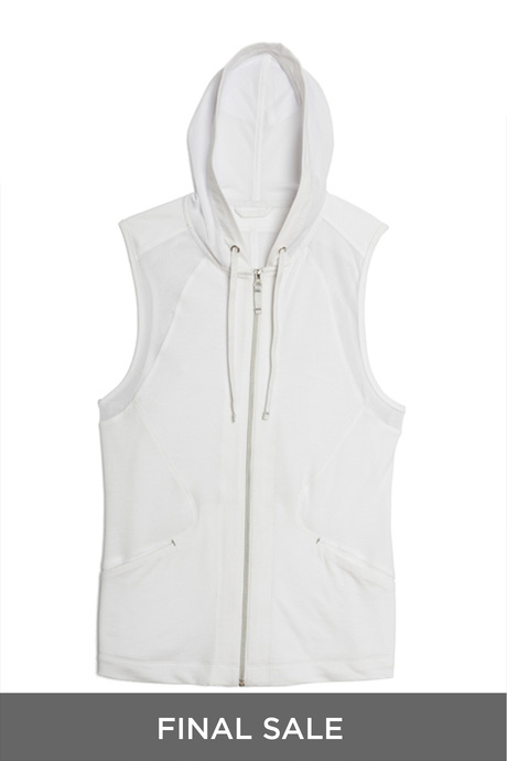 Carioca hoodie white pinup final sale