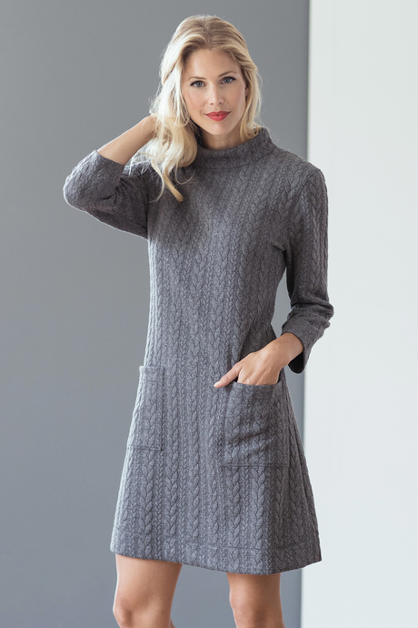 Twiggy dress files charcoal front1