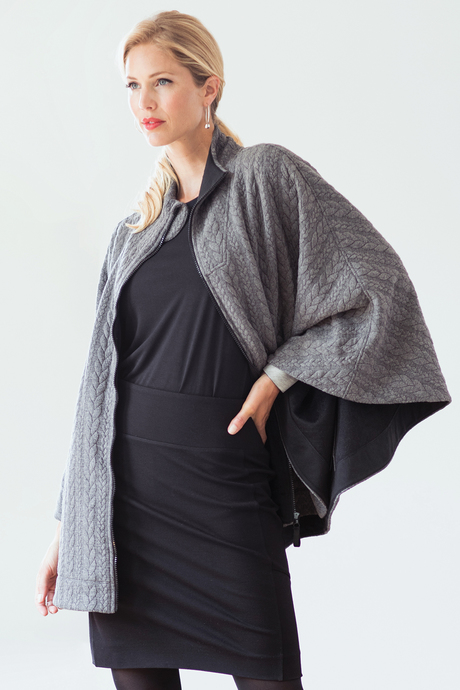 Duchess cape files charcoal front3