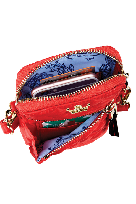 Oliver thomas bag files red crossbodytote inside3