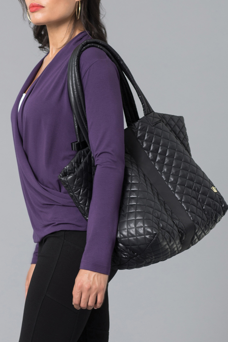 Oliver thomas bag files black wingwomantote model3