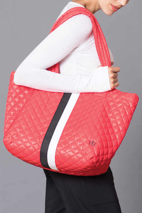 Oliver thomas bag files red wingwomantote model3