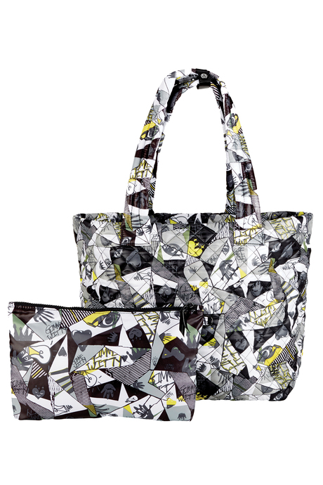 Oliver thomas bag brokenglass wingwoman tote pouch