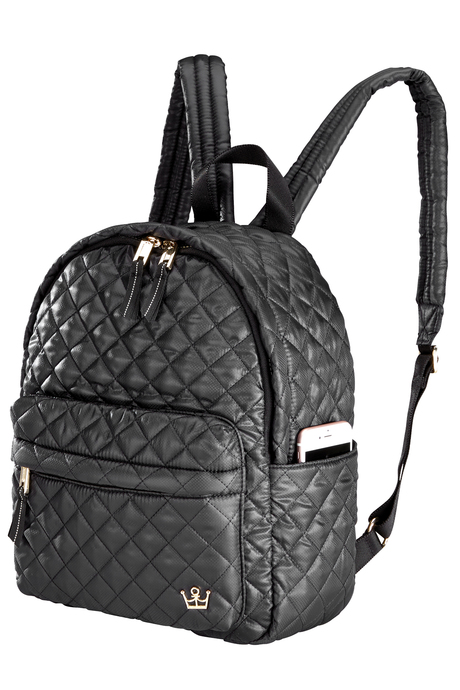 Oliver thomas bag black backpack side