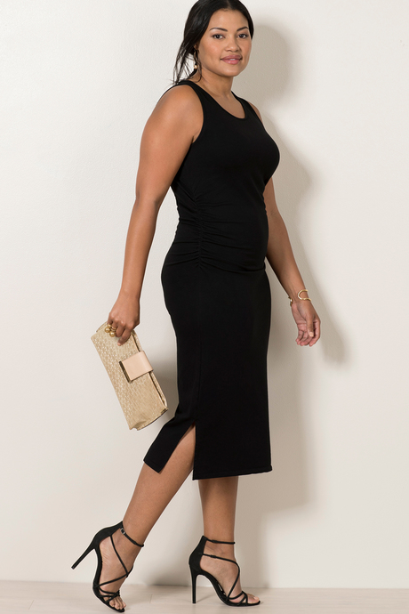 Haley dress black front