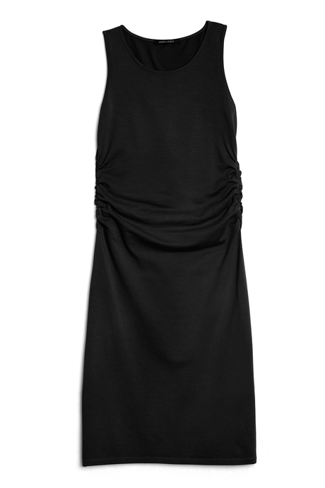 Haley dress black laydown