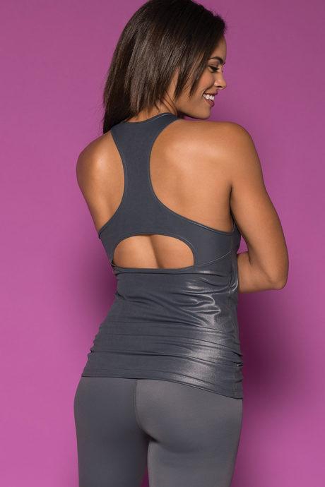 Stella tank silver back