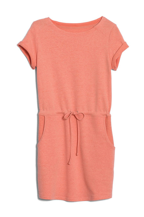 Malibu dress coral pinup