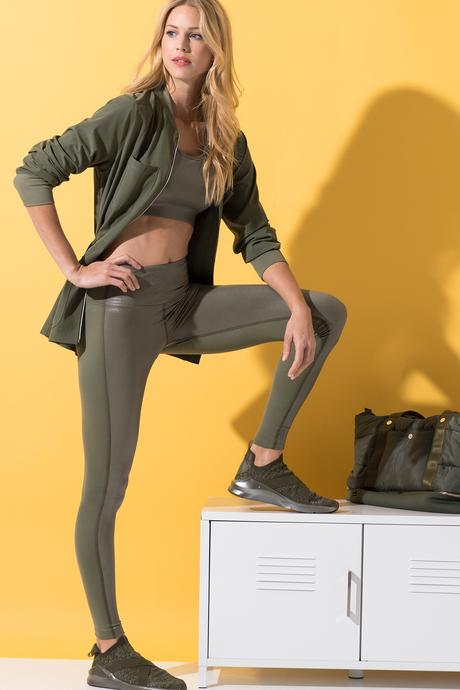 Nina legging olive4