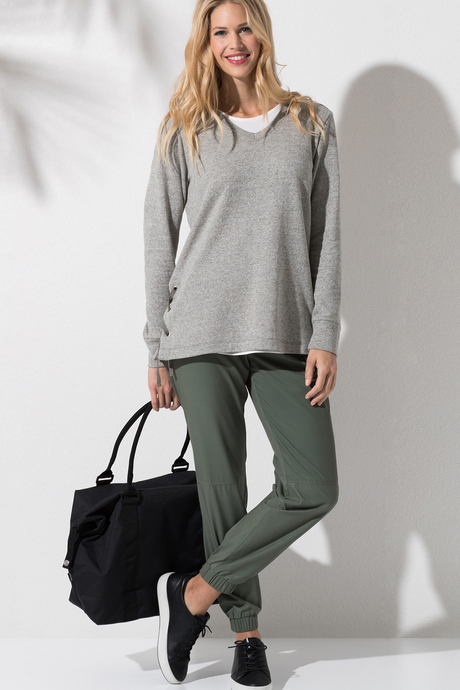 Piazza jogger olive3