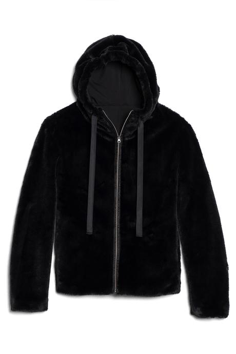 Polar hoodie black pinup