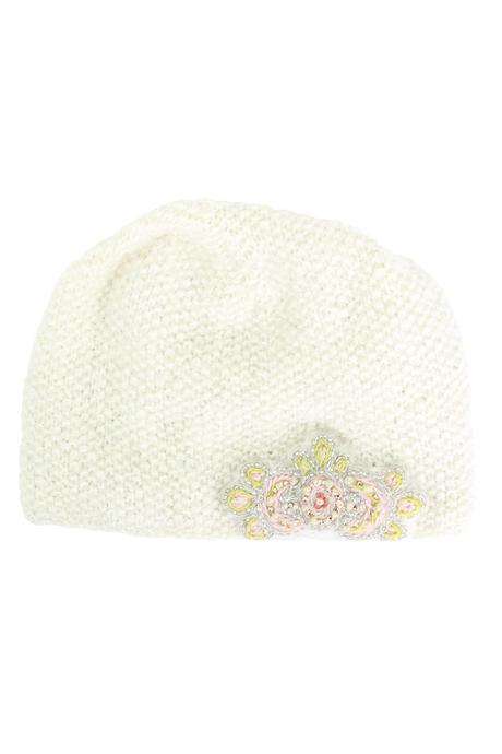 Paris hat cream pinup