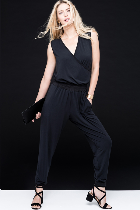 Jumpsuit black front