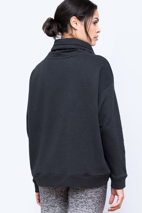 Sofia sweatshirt black back