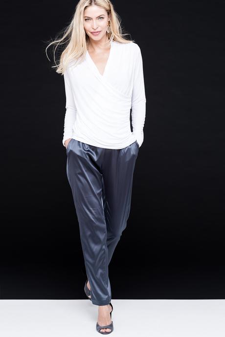 Chantal jogger silver front2