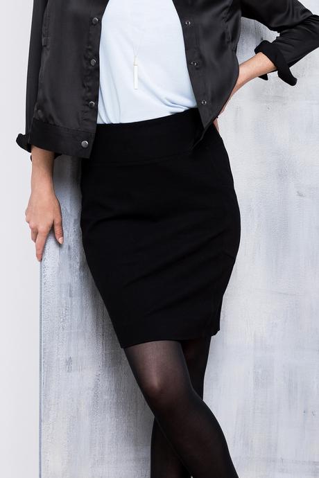 Moto ponte skirt front