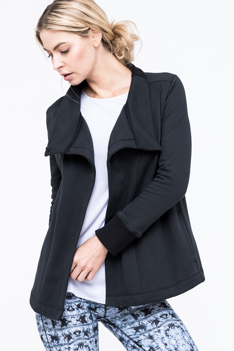 Lucia jacket black side