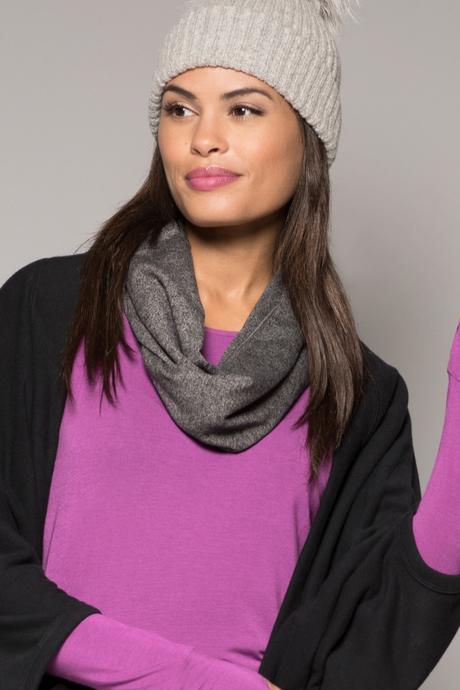 Jersey scarf grey