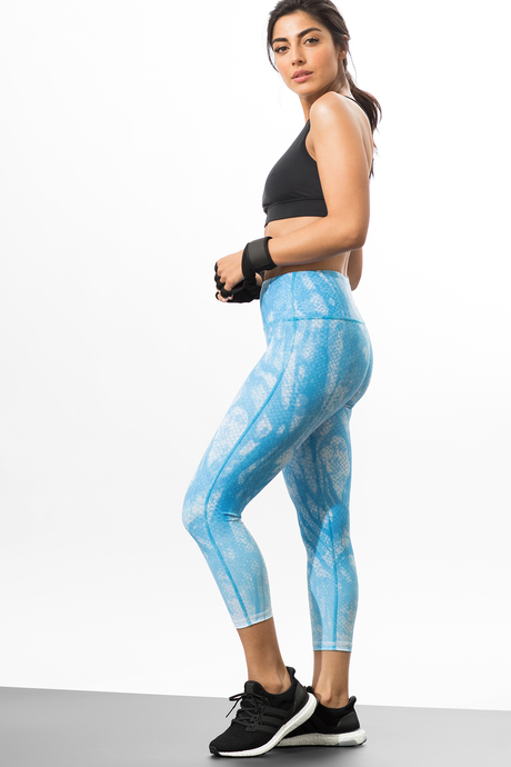 Reversible capri blue viper side