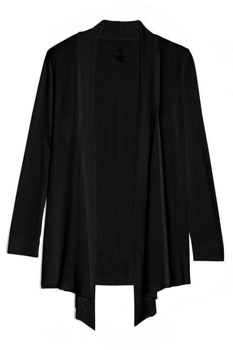 Flyaway cardigan pinup black