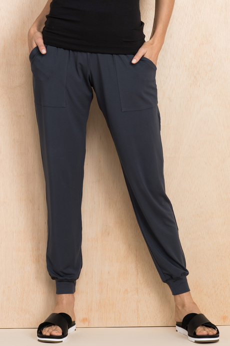 Boho pant steel front