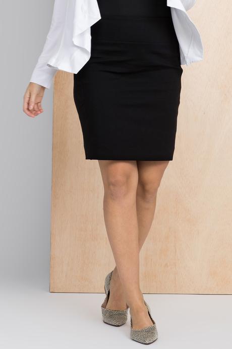 Moto skirt front